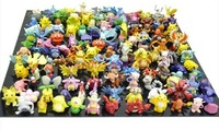 Whole sale Lots 144pcs Pokemon Action Figures 2-3cm doll for children's toy Free Shipping to worldwide