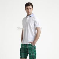 Free Shipping 2014  Fashion Short Sleeve   Polo Shirt for men ,  Fashion Men's Casual T Shirt100% Cotton