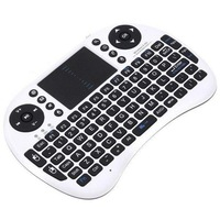 New Coming 2.4G Multimedia Rii for PC Pad Google Andriod Game TV Multimedia Mini Receiver i8 Wireless Keyboard With Touchpad