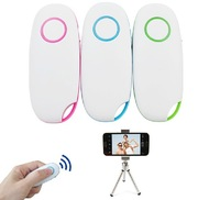 DHL,10pcs Universal Camera Remote Control Self Timer Bluetooth Shutter for iPhone Mobile Phone iOS Android