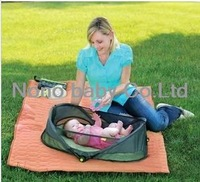 USA brand Brica  go outdoor travel portable baby bed folding portable game bed