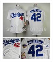 Cheap 2014 Men's Baseball Jersey Los Angeles LA Dodgers #42 Jackie Robinson 1955 50th Throwback Baseball Jersey,Size M-XXXL