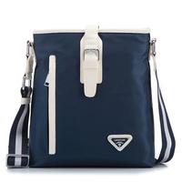 New 2014 Bag Men Messenger Bags Oxford Shoulder Bag Waterproof Briefcase Men Travel Bags Blue