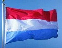 Holland / Netherlands National Flag polyester material in size 90cm x 150cm