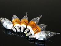 Rueiyuan LED3w small enough power WLED bulb candle light E14 E27 lamp lighting factory wholesale