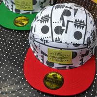 wholesale Geometric print snapbacks caps hip hop baseball cap snapback hats for women men 2014 new M61