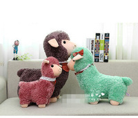 New Animal plush toy Children's gift  mixed 3colors Aplaca