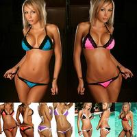 Free shipping new 2014 bikinis set swimwear swimsuit vintage push up bikini brand bikinis monokini retro 7 colors wholesale