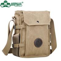 Canvas shoulder messenger bag men outdoor military tactics package