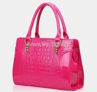 New 2014 Europe Style Crocodile Pattern Fashion Women Handbag Brand Desigual Women Messenger Bags Bolsas PU Leather Handbags