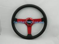 Free Shipping hot car modification pu steering wheel / steering wheel 14-inch universal modification / momo racing wheel