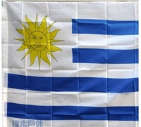 Uruguay National Flag polyester material in size 90cm x 150cm