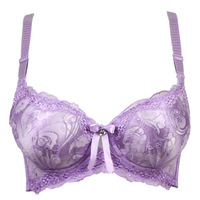 NEW A B Cup Sexy Brassiere Embroidery Floral Knot  Lace Young Girl Lingerie bras for women underwear Sexy Push up Bra Victoria