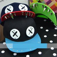 wholesale Cartoon Rivet snapbacks caps hip hop baseball cap snapback hats for women men 2014 new M67