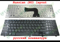 New Russian RU Laptop keyboard FOR Dell for Inspiron 15V 15R 3521 3537 5421 5521 5537 5535 M531R-5535 Vostro 2521 Black Frame