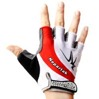 Nepartak ride gloves semi-finger bicycle mountain bike breathable shock absorption slip-resistant wear-resistant