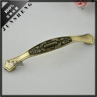 European antique bronze drawer handle shoe wardrobe cupboard door wine cabinet 128mm