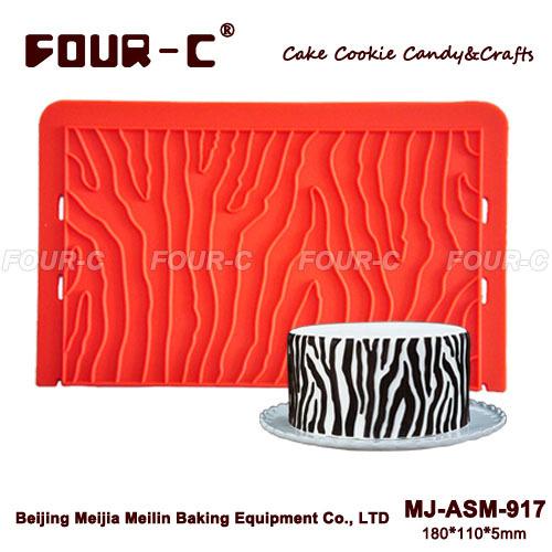 2014 new zebra sugarpaste mold,cake border mould,cake side decoration(China (Mainland))