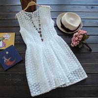 Women embroidery flower dress summer 2014 novelty dresses atacado roupas femininas vintage vestidos de menina casual dresses
