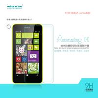 NILLKIN Amazing H Nanometer Anti-Explosion Tempered Glass Screen Protector  Film For Nokia Lumia 630 phone case+Retail Box