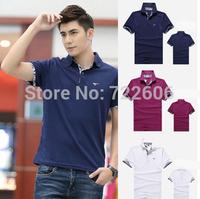 septwolves 2014 summer brand t-shirt slim fit man camisetas men la cotton  man'st- shirts male shirts casual men shirt camisa