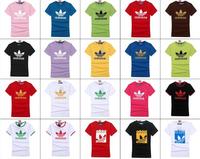 New 2014 summer and autumn brand new cotton mens short-sleeved T-shirt men's sports sweat T shirt  men tops tees