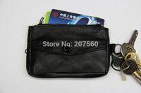Free shipping!High-grade leather, sheepskin coin purses,change purse,Card package,key bag,zipper wallets,coin bags(men or women)