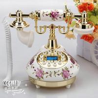Rustic ceramic antique telephone fashion vintage telephone