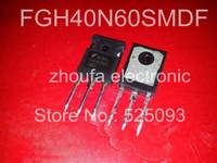 Free shipping  FGH40N60SMDF  TO-247 IN STOCK