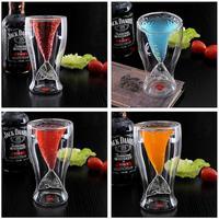 Free shipping Creative Mermaid glass cup  Whisky mug Wine cup