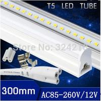 Free shiping 1pcs/lot T5 led tube 4w solar tube 450lm led solar shed light 1ft light bulb 12v 300mm led bulbs lamp CE&ROHS