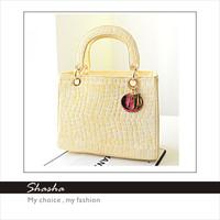 Hot selling Candy colors Women's Children's girls mini handbags shoulder bags children Totes Purses Famous D brand PU leather