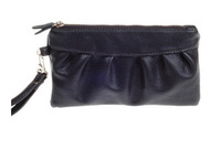 Fashion new Europe and the United States leather pure color hand bags