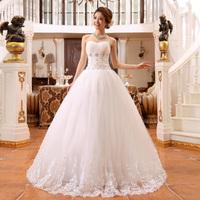 Wedding dress 2014 fashion new women's Tube Top dress Diamond bandage Lacework Slim Princess  Bride dress
