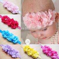 10pcs/lot  rose flower crocet headband children accessories headband