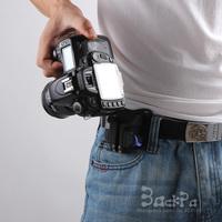 2014 New Camera Holster Waist Belt Buckle Button Strap Quick Shoot Fast Loading for 60D 70D 5DII 5DIII 7D D610 D800E DSLR Camera