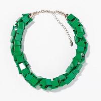 2014 New Design Women Z Gold Color Alloy Choker Flower Vivid Necklaces & Pendants