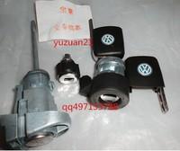 VW Bora (2008 year) lock cylinder (whole set) for door , ignition