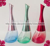 free shipping 10pcs/pack portable colored mini spray Bottle bottle perfume bottle refillable Bottles glass bottle sub bottle
