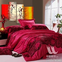 k cotton reactive printing bedding package rhyme family of four Eastern United States