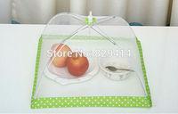 3pcs/lot Color Random Newly design Folding food Cover Umbrella Style Fruit Cover Kitchen Special Tools 39*38*25cm