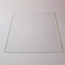 Borosilicate Glass plate for Reprap 3D Printer MK heating bed  Rectangular 200 * 214* 3mm Boro Glass free shipping