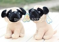 Animal Plush Toy Models Cute small Pug dog Stuffed Toy 20cm 1pc birthday gift free shipping