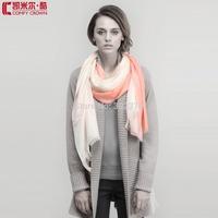 2014 new design mongolia C12084 pure Cashmere shawl soft comfortable scarf 100% cashmere