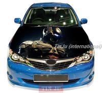 HD PVC Self-Adhesive Vinyl Car Hood Stickers Design For All Car Model