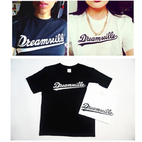 The whole network fashion hiphop street j cole lovers HARAJUKU short-sleeve T-shirt free shipping