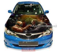 Comics Venom Spiderman JDM Decal Full Color Vinyl Car hood sticker Fit Any car