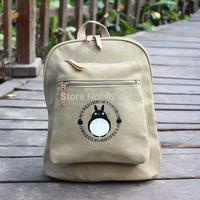 1pcs Tonari no Totoro anime casual  shoulder bag / Backpack / Dual-use backpack Messenger laptop Computer school bag free ship