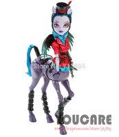 Monster High Freaky Fusion Avia Trotter Doll Genuine Original Monster High Doll Free shipping Best gift for girl 2014 new