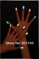 12 color 1pcs 15ml Fluorescent Neon Luminous Nail Polish Glow in Dark Nail Varnish Nail Enamel